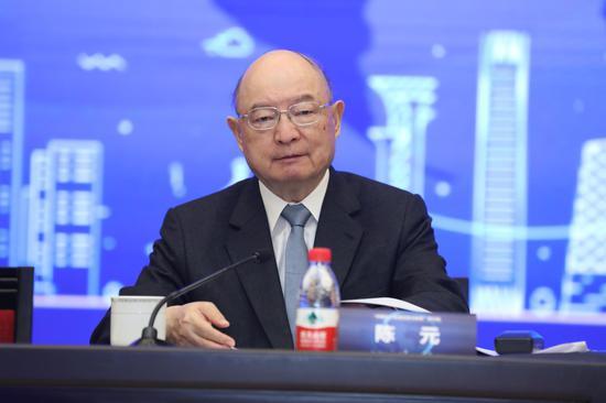 陈元:离岸人民币最终必须存放在在岸银行体系中