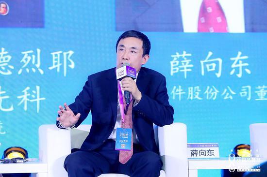 東華軟件薛向東:利用產品和技術幫客戶創造價值