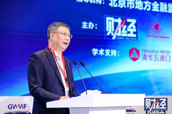 中国互联网金融协会区块链工作组组长李礼辉