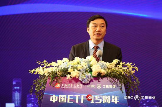 上交所刘逖:中国ETF诞生15年 规模稳增数量持续上涨