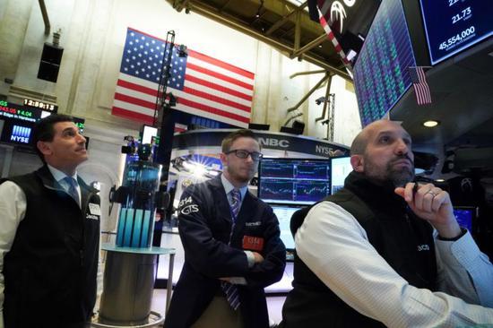 午盤:美股急跌道指跌逾330點科技股