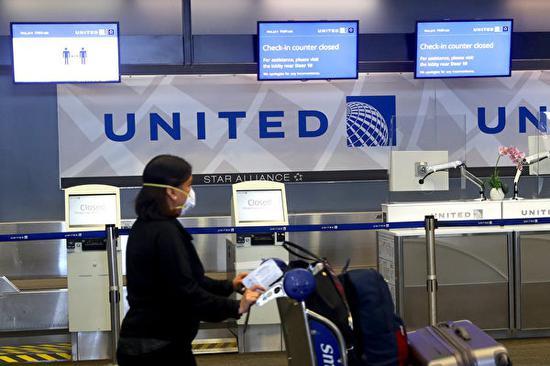 美联航迫于疫情宣布取消美国国内航班200美元改签费
