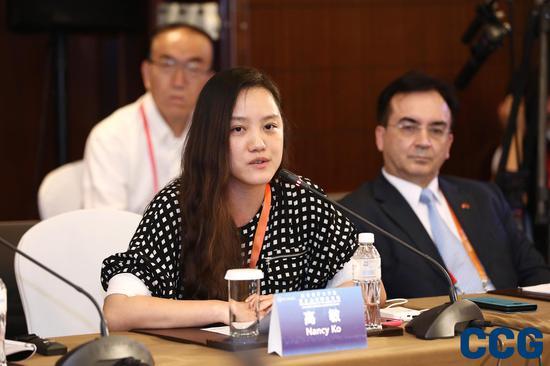汉帛国际总裁高敏:数字经济在保险方面大有可为