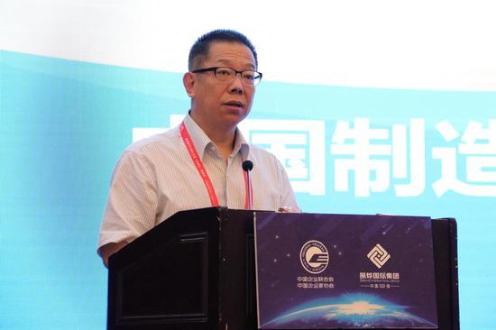 郝志强:我国有20%的制造企业已经实现综合集成