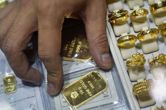 周四黄金期货收高1.8% 创7周来最高收盘价