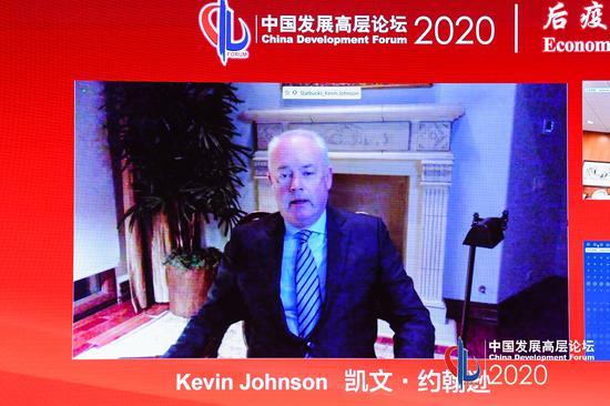 星巴克总裁:在中国长期发展的决心从未动摇
