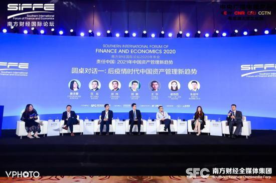 圆桌论坛一:后疫情时代中国资产管理新趋势