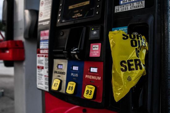周四美国WTI原油收跌2.7% 布伦特原油跌2.4%