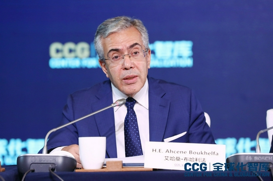 阿尔及利亚驻华大使 :中非合作为全球经济发展提供新思路