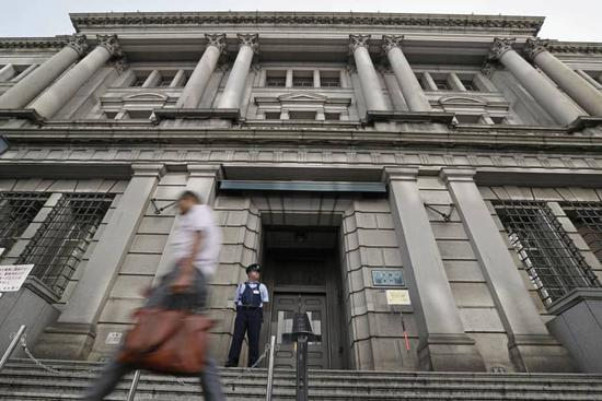 日本央行维持货币政策不变 下调本财年经济增长预期