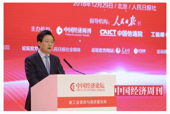 吉林省地方金融监督管理局局长、金融办主任胡斌 (《中国经济周刊》首席摄影记者 肖翊 摄)