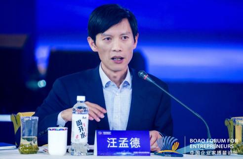 融创汪孟德:融入新发展格局 以自身产业优势助力中国经济发展