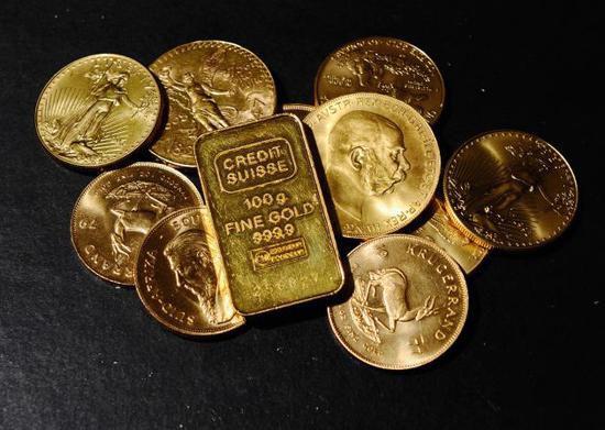 美国黄金期货价格收盘下跌4.10美元,报收于1273.20美元/盎司。