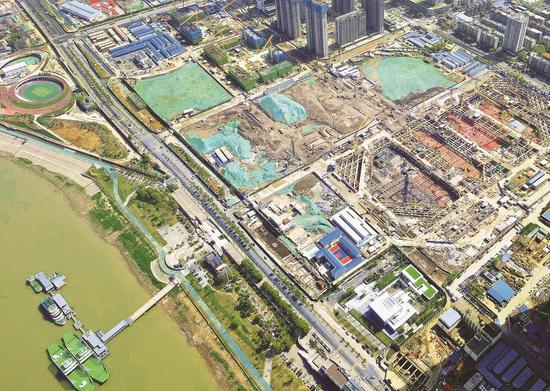 匠心打造武昌滨江地下交通城