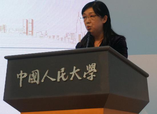 中国人民大学财政金融学院院长 庄毓敏