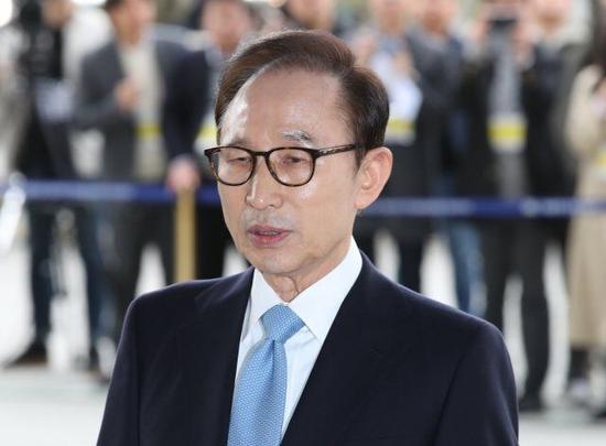 韩国前总统李明博