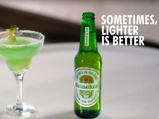 淡啤酒给浅肤色的人 喜力啤酒广告被批种族歧视下架喜力