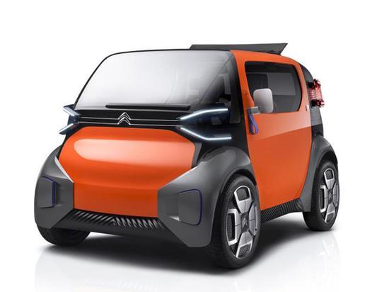 雪铁龙发布迷你电动汽车AMI 售价6900欧元