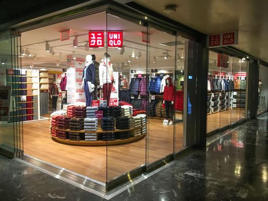 优衣库宣布在日本全线降价9%