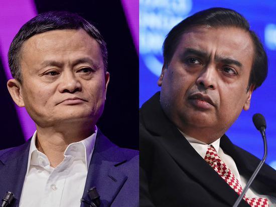 油价暴跌致印度首富身价缩水 亚洲首富宝座拱手让给马云