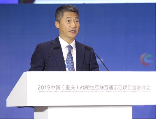 謝漢立:依托現有金融工具開展跨境合作