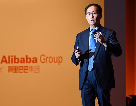 日本记者连续追问阿里CEO张勇 新零售被提及率最高阿里巴巴