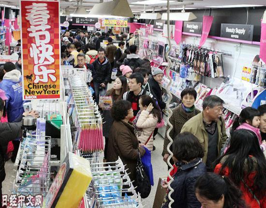 """日媒:雷火电竞网址大陆游客激增40.7% """"春节""""重返日本"""