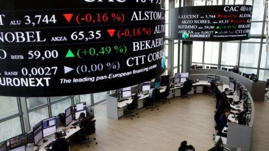 【欧股收盘】欧股下跌 关注企业财报及美俄首脑会晤