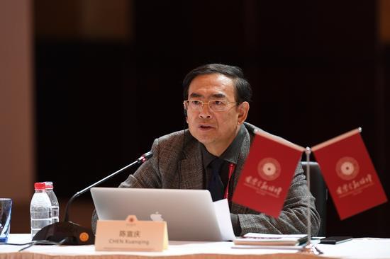 國家發展和改革委地區司原巡視員陳宣慶。(攝影 崔楠)