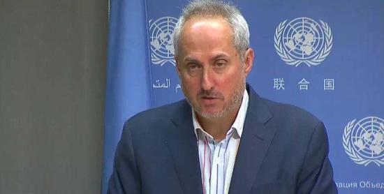 联合国秘书长发言人迪雅里克