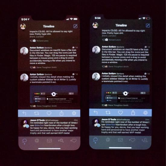 新iPhone被指存缺陷:亮度降低时颜色变异扭曲