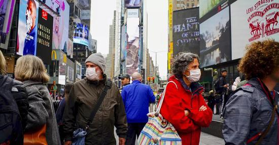研究发现纽约近20%居民曾感染新冠病毒