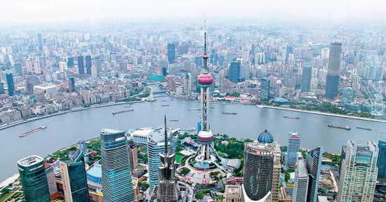 全球金融中心排名:上海跃居第三 前十中国占四