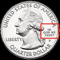 25美分硬币