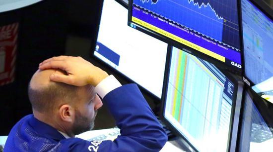 收盘:美股大跌道指狂泻831点 纳指暴跌4.08%