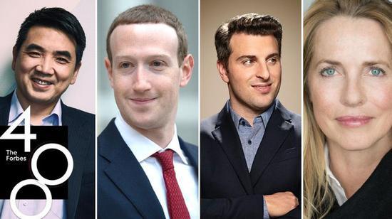 美国400大富豪四分之一来自加州 其中44位出自科技业