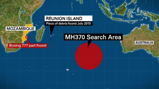 马来西亚总理:如有新证据 MH370搜寻工作可能重启马来西亚