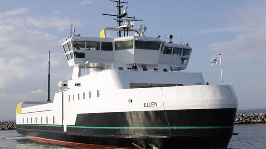 全球最大纯电动渡轮完成处女航