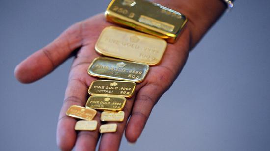 周五黄金期货收跌4.6%创7年来最大日