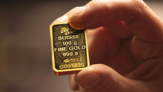 周三黄金期货价格收高0.2% 连续第三日上涨