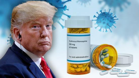 特朗普称仍然认为羟氯喹抗击新冠病毒有效