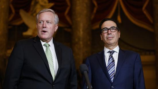 白宫与民主党刺激计划谈判无果而终 财长将建议总统采取行政行动