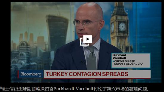 新兴市场或再受苦几天 但与土耳其终将各走各的路