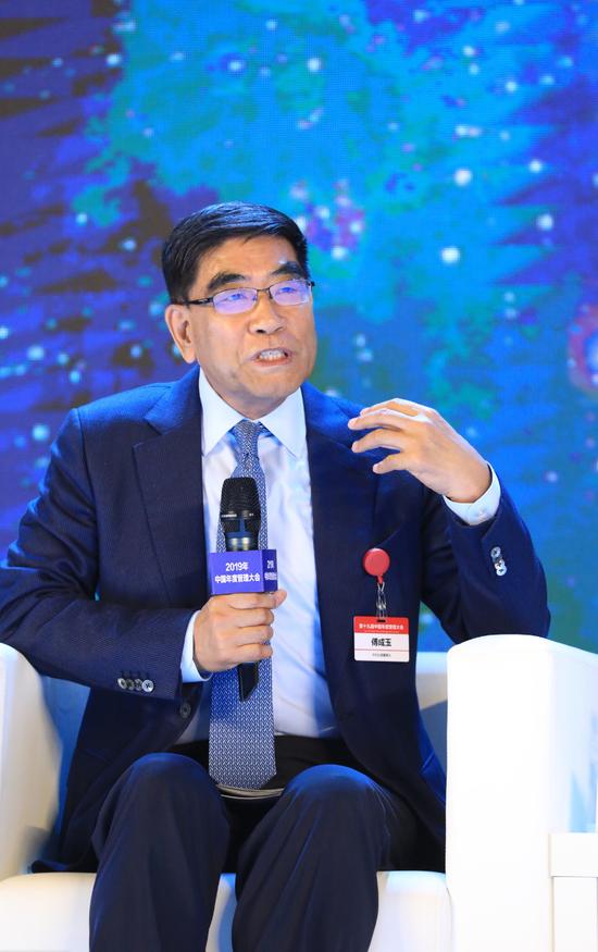 傅成玉:企业家在今天要练内功 同时不要失去机遇