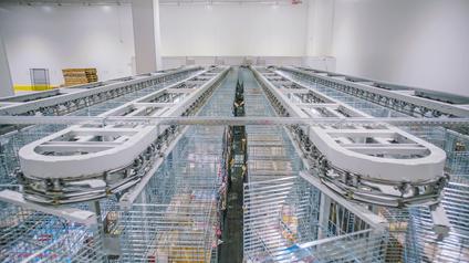 京东物流亚洲一号生鲜仓依旧在服务消费者