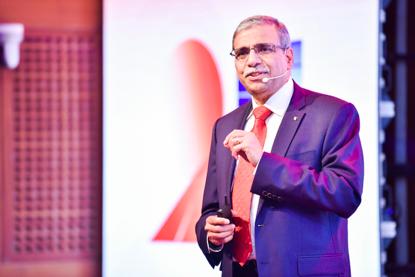中欧国际工商学院欧方院长迪帕克·杰恩(Dipak C. Jain)教授发表主题演讲