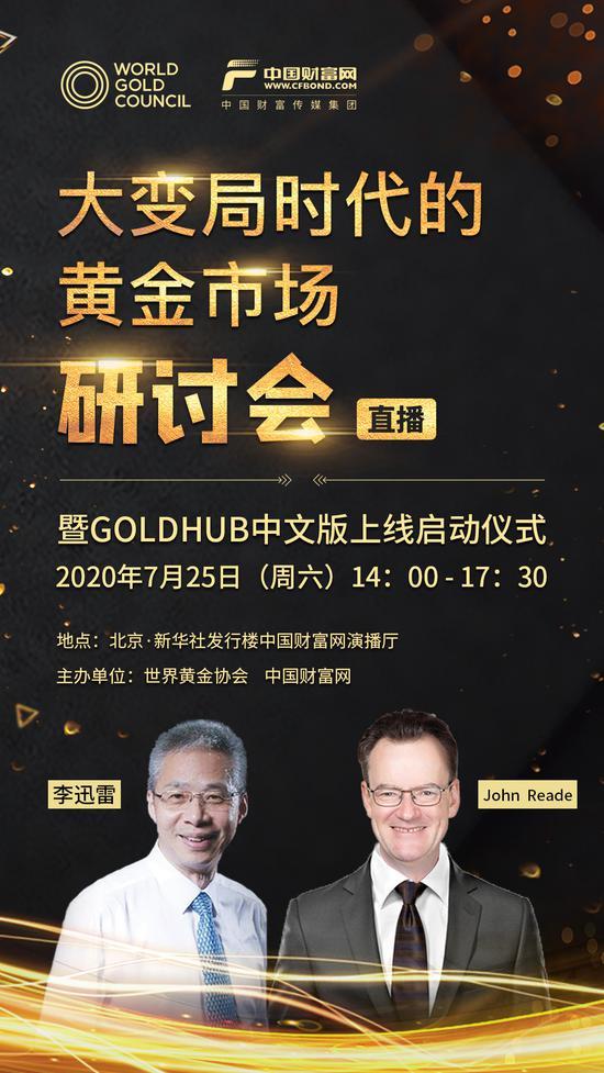 直播预告:大变局时代的黄金市场研讨会