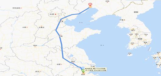图1:回家路线  原料来源:百度地图,<a href=