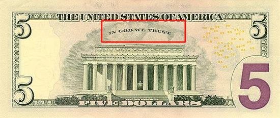 5美元纸币