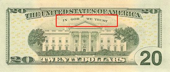 20美元纸币